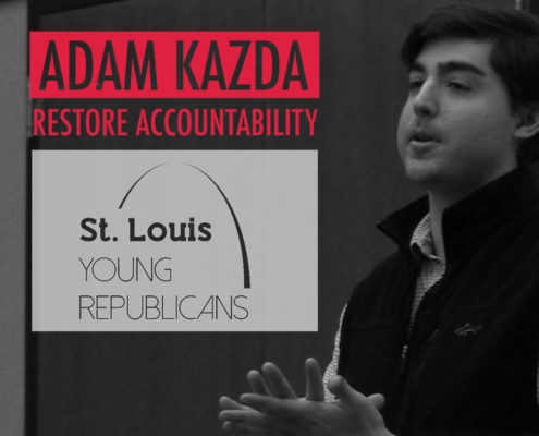 Adam Kazda Speaks With St. Louis Young Republicans